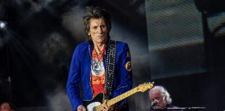 Ronnie Wood Rolling Stones