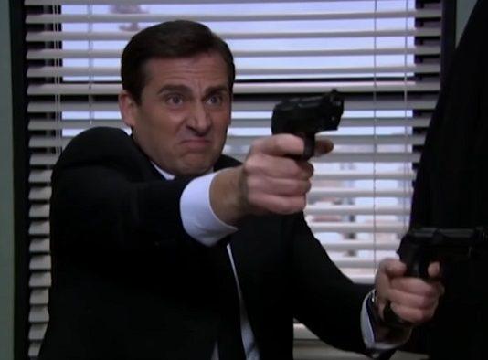 The Office Threat Level Midnight