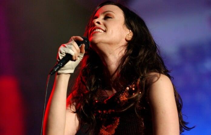 Alanis Morissette em 2005
