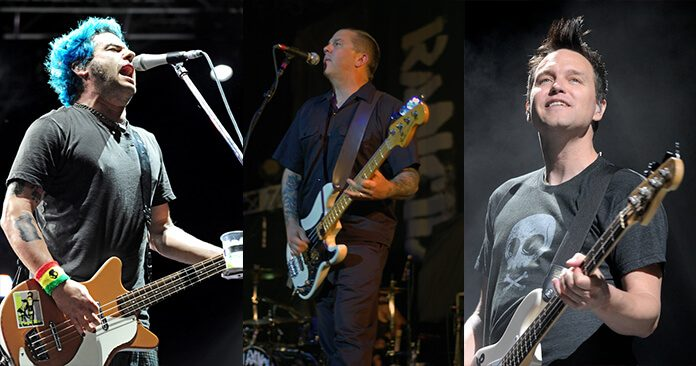 Fat Mike, Matt Freeman e Mark Hoppus