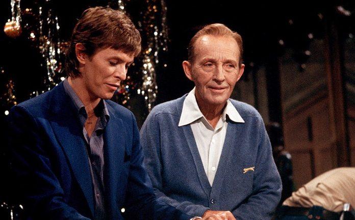 David Bowie e Bing Crosby