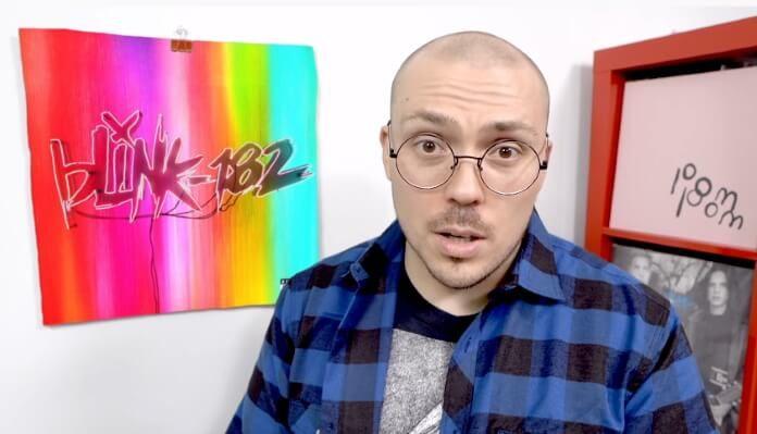 Anthony Fantano fala sobre blink-182