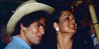 George Michael e a irmã Melanie