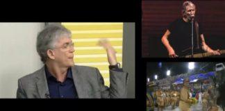 Ex-governador da Paraíba, Roger Waters e Carnaval