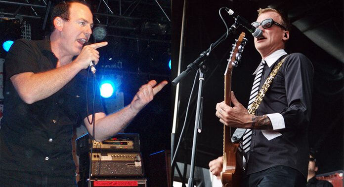 Greg Graffin (Bad Religion) e Matt Skiba (Alkaline Trio)