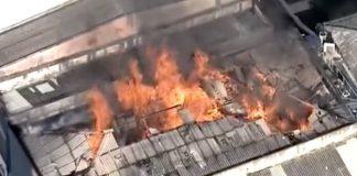 Incêndio na Gravodisc