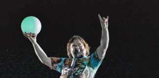 Jack Black com o Tenacious D no Rock In Rio 2019
