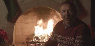 Kevin Spacey em vídeo de Natal, 2019