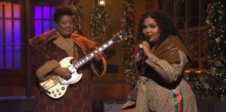 Lizzo no Saturday Night Live