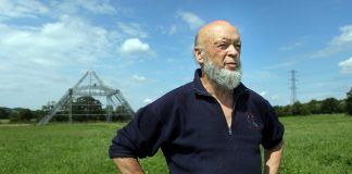 Michael Eavis na Worthy Farm