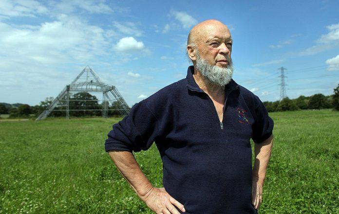 Michael Eavis na Worthy Farm