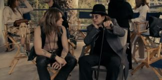 Ozzy Osbourne no making of do clipe