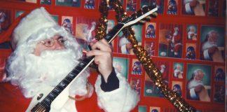 Papai Noel roqueiro