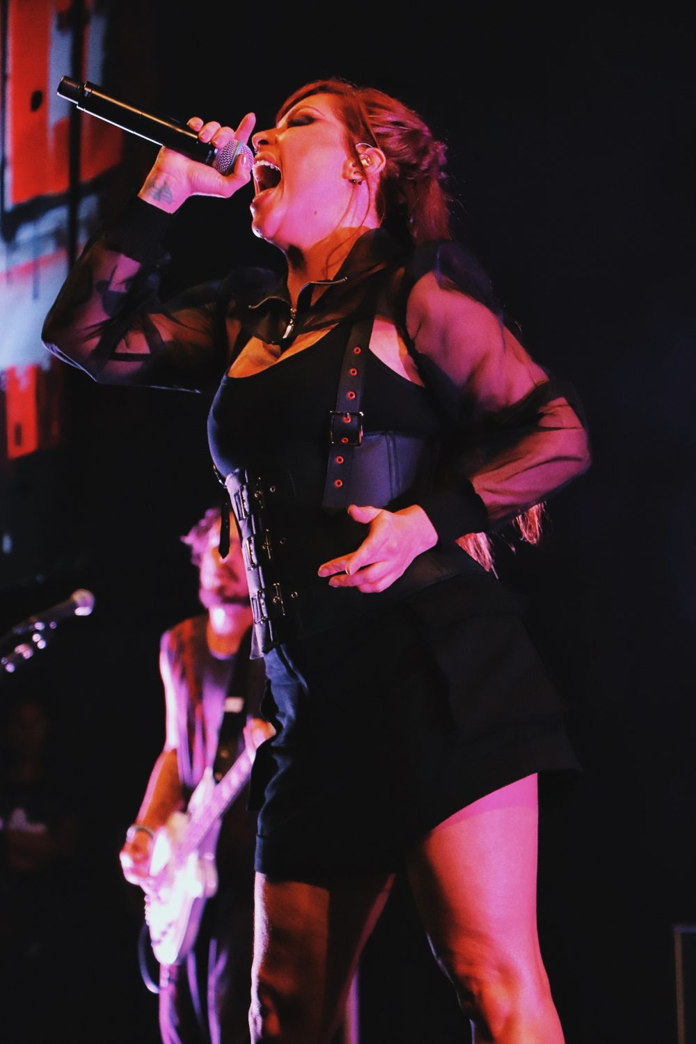 Pitty grava DVD em Salvador