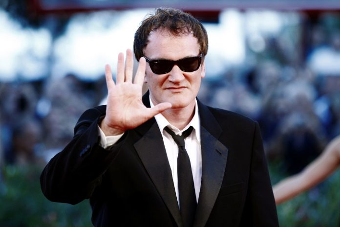 Quentin Tarantino em 2010