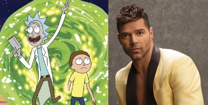 Rick & Morty / Ricky Martin