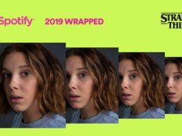 Spotify Wrapped da Eleven, de Stranger Things