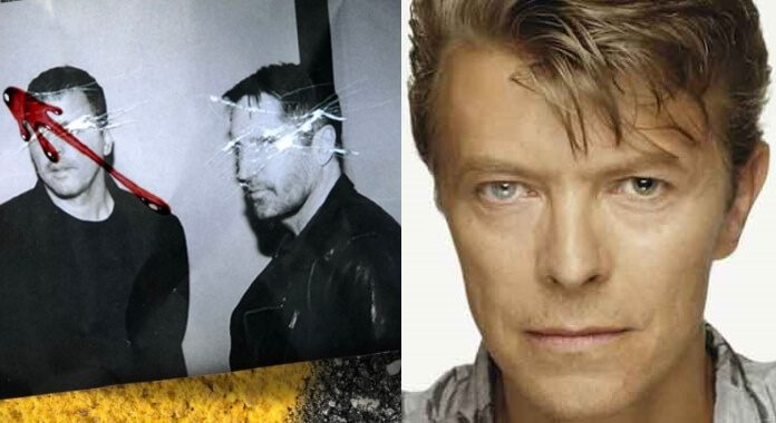 Atticus Ross, Trent Reznor e David Bowie