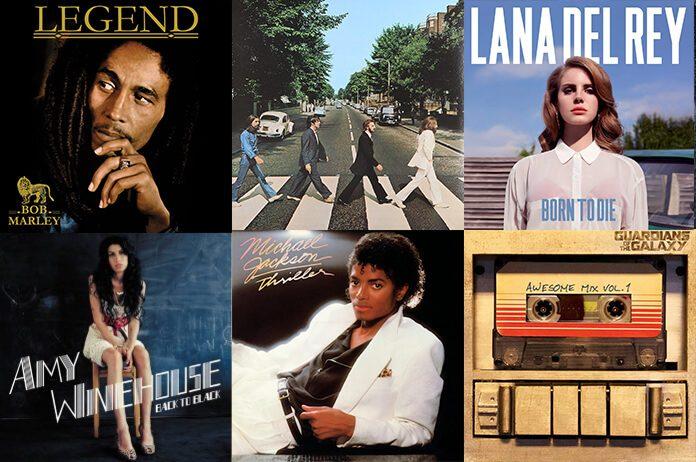 10 discos de vinil mais vendidos da década