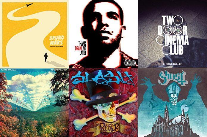 Discos de estreia lançados em 2010