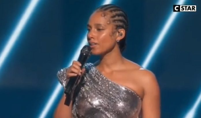 Alicia Keys Kobe Bryant Grammy