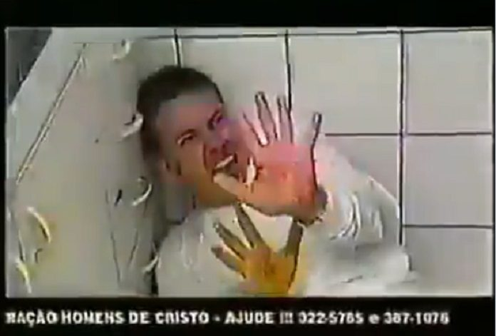 Campanha anti drogas anos 90