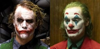 Coringa Joker Joaquin Phoenix Heath Ledger