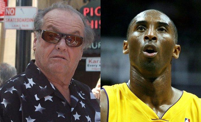 Jack Nicholson e Kobe Bryant