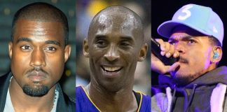 Kanye West, Kobe Bryant, Chance the Rapper