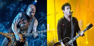 Kerry King (Slayer) e Green Day