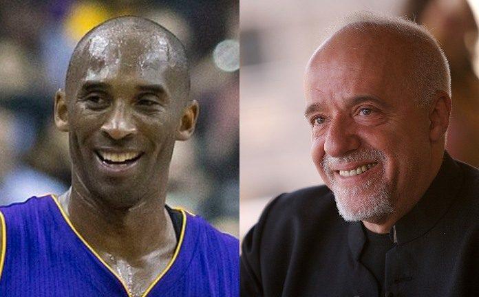 Kobe Bryant e Paulo Coelho