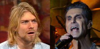 Kurt Cobain e Perry Farrell