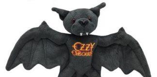 Ozzy Osbourne Morcego Pelúcia