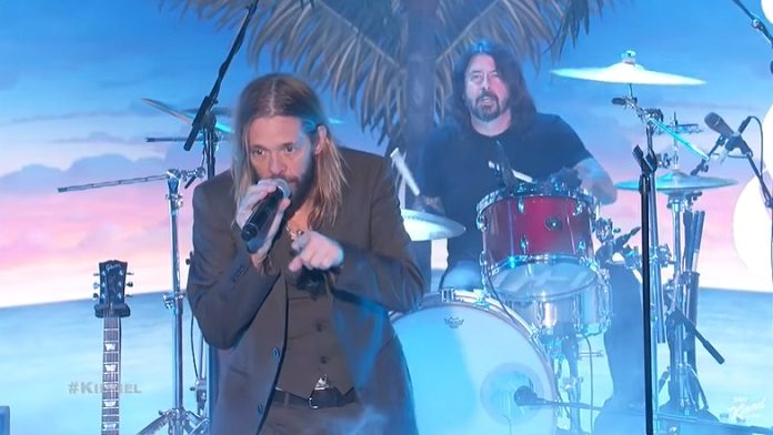 Taylor Hawkins e Dave Grohl