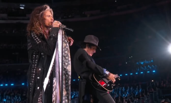 Aerosmith no Grammy 2020