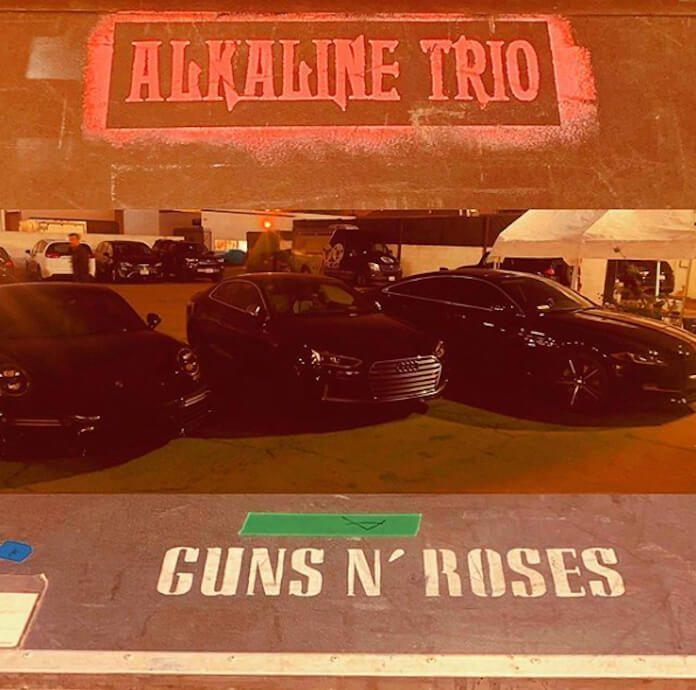 Matt Skiba e os carros do Guns N' Roses
