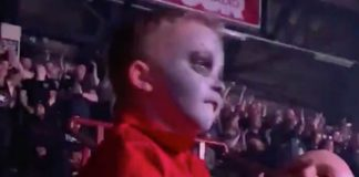 Caleb H Drummer no show do Slipknot