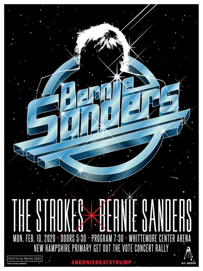 Bernie Sanders e The Strokes