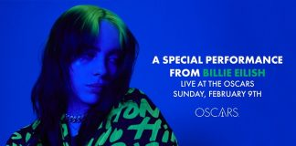Billie Eilish no Oscar
