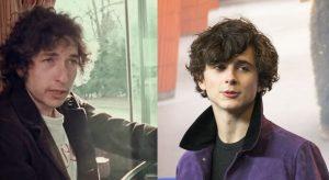Bob Dylan e Timothée Chalamet