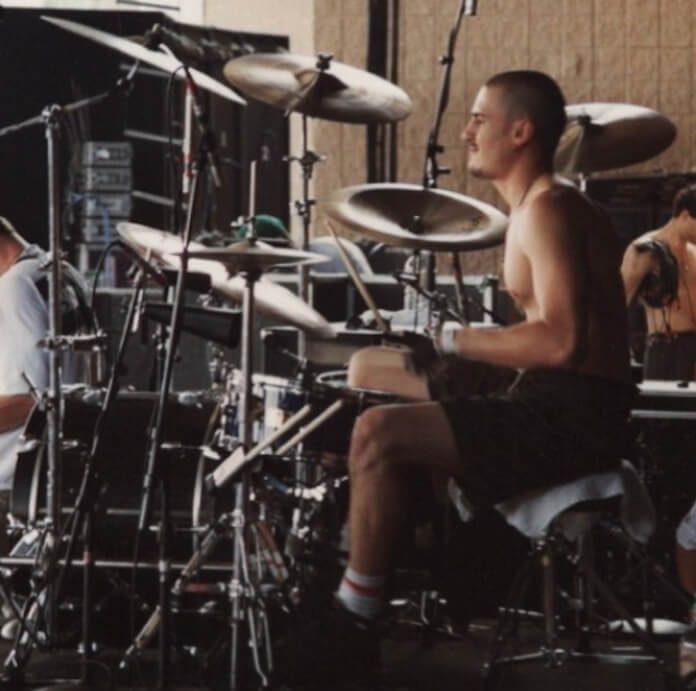 Brad Wilk no Lollapalooza 1993