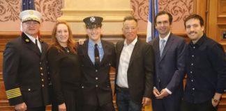 Filho de Bruce Springsteen vira bombeiro