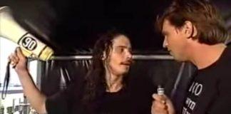 Chris Cornell em entrevista no Pinkpop 1992