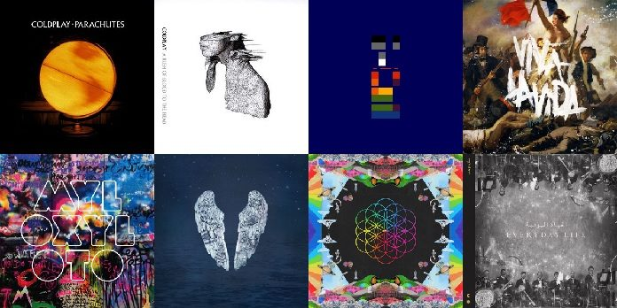 Discos do Coldplay