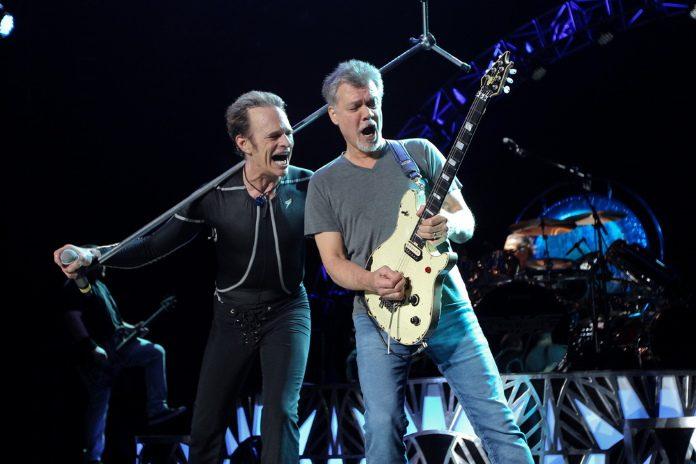 David Lee Roth e Eddie Van Halen em 2015