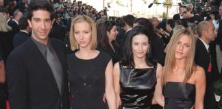 Friends: David Schwimmer, Lisa Kudrow, Courteney Cox, Jennifer Aniston