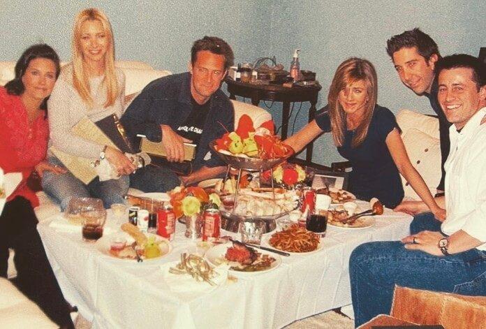 Friends na gravação do último episódio