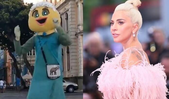 Frozen do Marco Zero e Lady Gaga