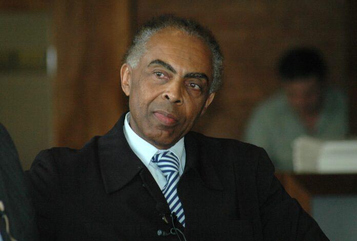 Gilberto Gil em 2006, quando era Ministro da Cultura do governo Lula