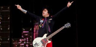 Billie Joe com o Green Day em 2010